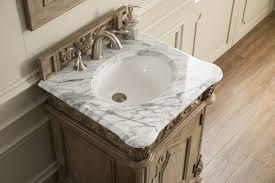 marble countertop for bathroom 24 inch antique single sink bathroom vanity carrara white marble