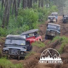 land rover bandung kastuba resort outbound lembang bandung lintas alam lembang