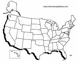us map blank worksheet