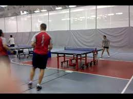 harvard ping pong table brown v harvard ping pong doubles youtube