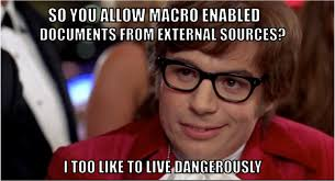 Macro Meme - how to get malicious macros past email filters black hills