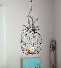 Pineapple Outdoor Lanterns Hanging Wire Pineapple Lantern Baby Pineapple Torches And House