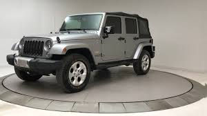 Used Jeep Wrangler Unlimited 2015 Used Jeep Wrangler Unlimited 4x4 At Bmw Of