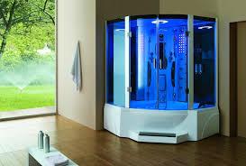 Corner Shower Bath Combo Impressive Steam Shower Units Corner Steam Showers Home Steam Room