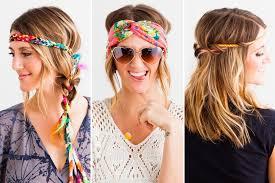 hippy headband headband hacks 3 creative ways to style em up brit co