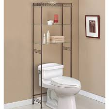 Bathroom Storage Shelves Over Toilet by Bathroom Toilet Organizer Bathroom Etagere Over Toilet Ikea