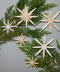 snowflake decorations snowflake decorations that go way beyond paper cutouts real simple