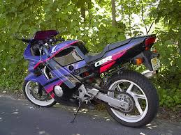 buy used cbr 600 1992 honda cbr 600 f2 purple racing motorcycle world pinterest