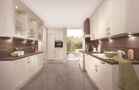 odina nobilia kitchen ivory cabinets dark wood effect laminate