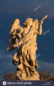 Angel Sculptures Rome Italy Bernini U0027s Baroque Angel Sculptures On Ponte Sant