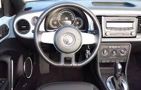 car review 2014 volkswagen beetle convertible driving