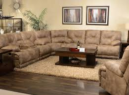 sofa brown leather reclining sofa prominent u201a favored flexsteel