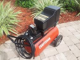 sold portable craftsman 125 psi 1 5 hp 12 gal air compressor