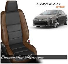 toyota corolla seats 2014 2018 toyota corolla se custom leather upholstery