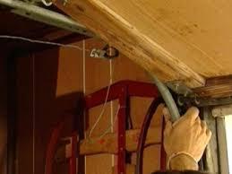 garage door sensor wire how to replace a garage door how tos diy