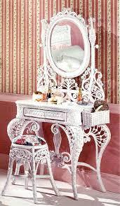 Wicker Vanity Set Vanity Set Omg I Want This So So Bad Wanted A Vanity