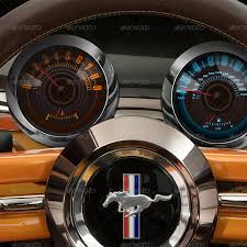 car dashboard muscle car dashboard realistic items by acidbutton graphicriver