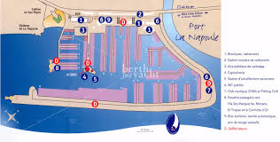 French Riviera Map Marina Yacht Berths And Moorings For Sale In Port La Napoule