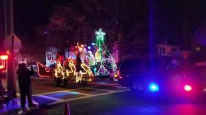 Fire Trucks Decorated For Christmas Elvis Presley Christmas Float 2016 Wallington Fire Truck Christmas