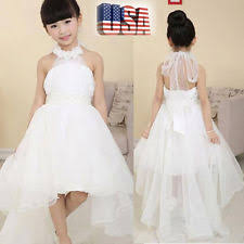 kids wedding dresses kids pageant dresses ebay
