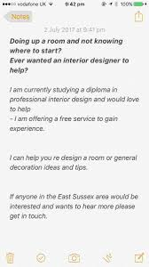 Looking For An Interior Designer by Chloé Howe Chloehowe Twitter