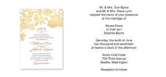 wedding invitation exle how to word wedding invitations theruntime