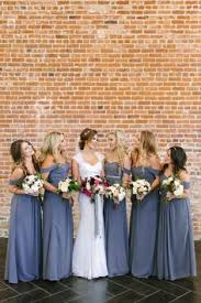 slate blue bridesmaid dresses the great debate mismatched bridesmaid dresses vs one style