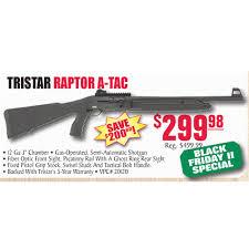 turners black friday tristar raptor a tac 12 ga 299 98 in store at turner u0027s