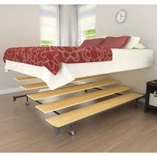 Make Wood Platform Bed by Bed Frames Solid Wood Bed Frame Platform Bed Frame Amish