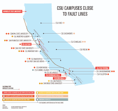 Cal State Map by Is Csueb Earthquake Safety A Major Issue U2013 The Pioneer