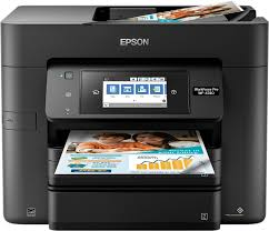epson workforce pro wf 4740 wireless all in one printer black