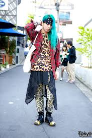 Japanese Designer by Indie Japanese Designer Shohei W Long Blue Hair Tokyo Fashion