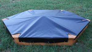 Sandboxes With Canopy And Cover by Hexagon Sandboxes