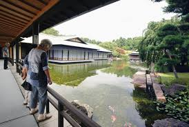 Japanese Style Garden by Kyoto State Guesthouse Begins Year Round Access For Tourists The