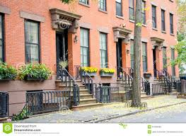 Brick Homes by Brooklyn Homes Stock Photo Image 61685894