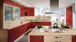 modern kitchen cabinets interior design with wood stainless