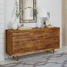 Dresser For Bedroom Reclaimed Wood 7 Drawer Dresser Honey West Elm