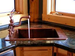 sinks dark brown porcelain corner kitchen sink pretty sinks hand