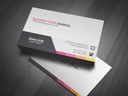 modern unique business card templates free designs business