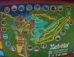 Mayan Ruins Mexico Map by Xel Ha Review How To Make The Most Of Your Day There