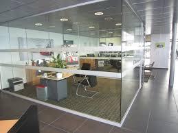 bureau vitre cloisons vitrées toute hauteur sur aubagne aix en provence azur