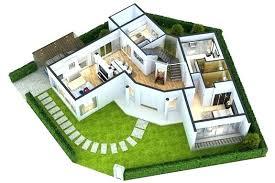 modern floor plan home plan 3d interior view of small house design bitcoinnect co