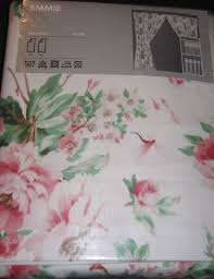 Ikea Pink Curtains Ikea Emmie Romantic Roses Curtains Drapes English Country Pink