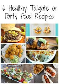 16 healthy tailgating or football recipes food done light