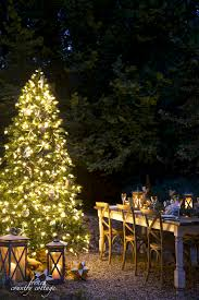 coastal christmas tree u0026 table french country cottage