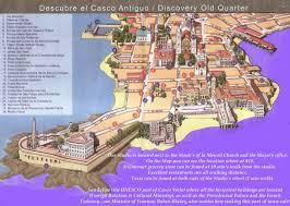 Panama City Map Panama City Map Casco Viejo