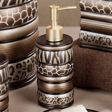 leopard bathroom decor bathroom decor