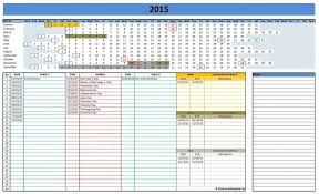Excel Office Templates Microsoft Excel Calendar Template Office Templates Gantt 2015 Line