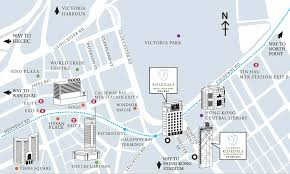 Mtr Map Our Location Rosedale Hotel Hong Kong