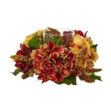 shop nearly 1 candle autumn hydrangea berry fall colors
